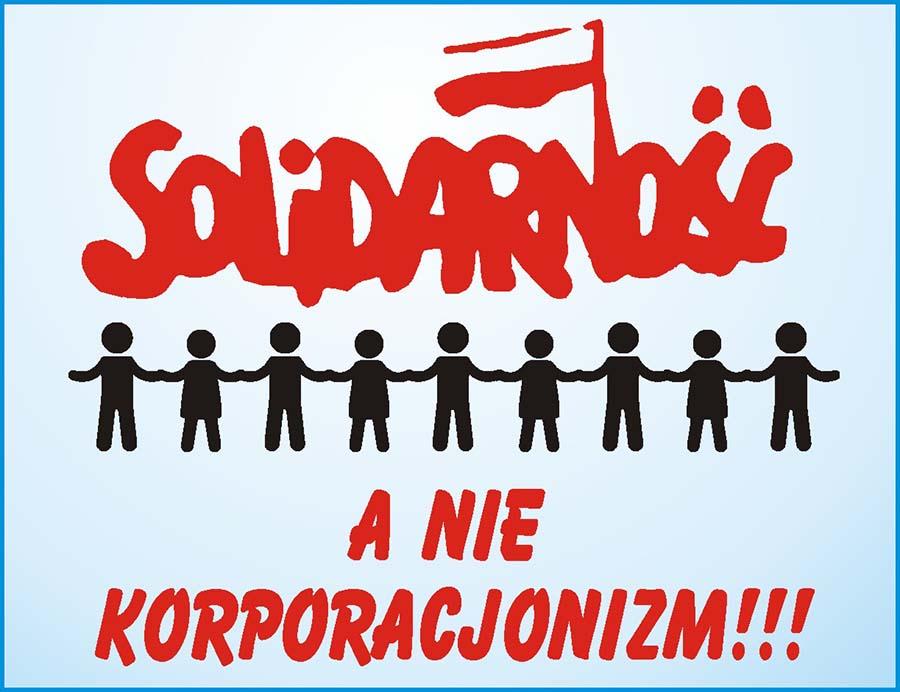 solidarność a nie korporacjonizm