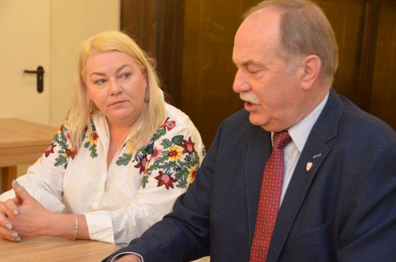 Przewodniczący Proksa Spotkał Się Z Dolnośląską