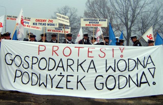 protest wodny