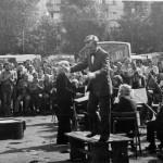 Zajezdnia 7, wystep Filcharmonii Wroclawskiej