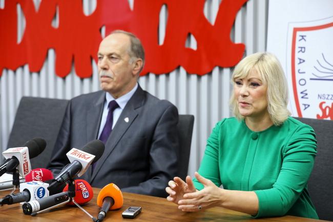 Olga Zieliñska, Ryszard Proksa